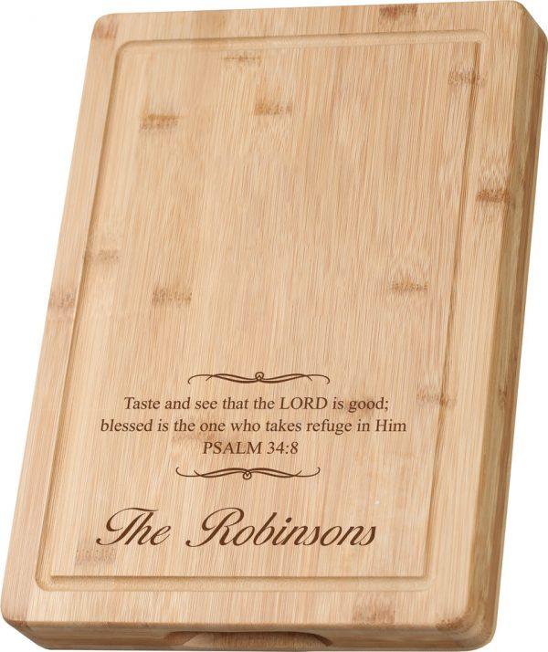 Bamboo Cutting Board 7
