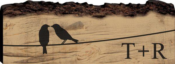 Faux Sliced Log Stick 10