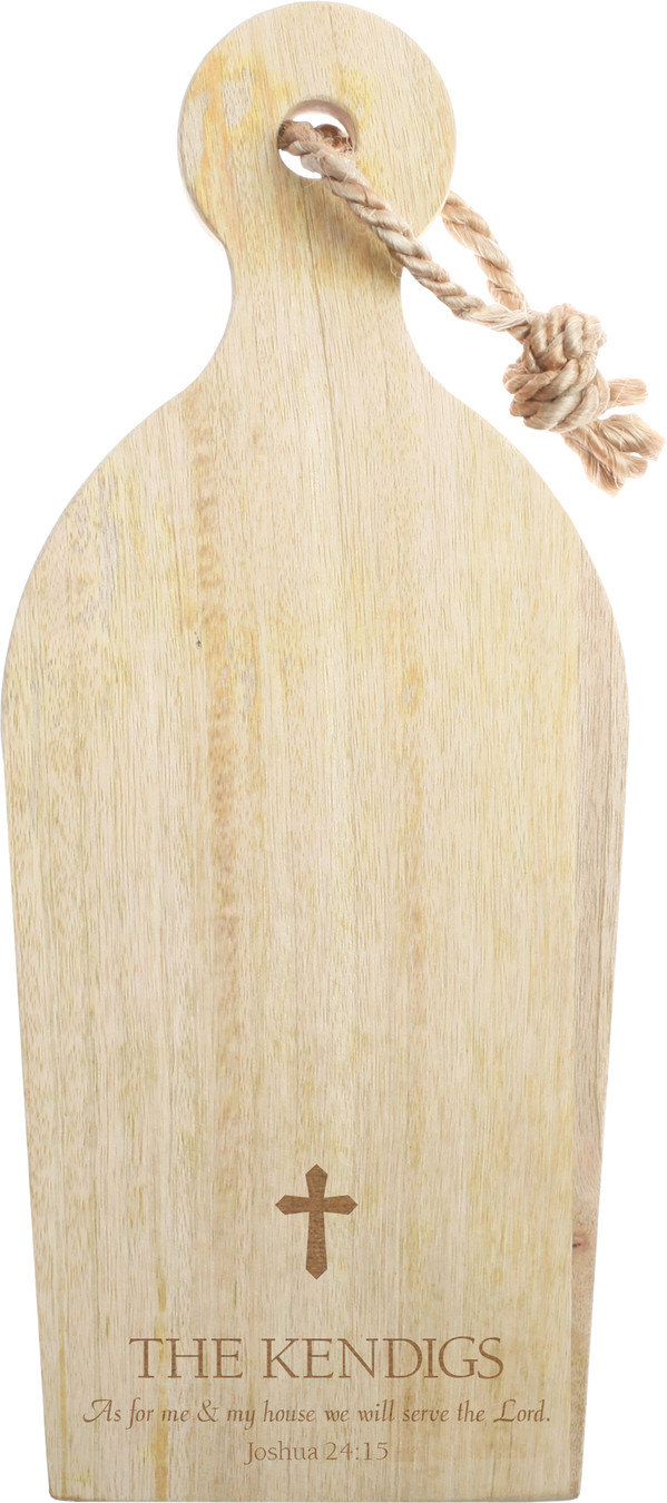 Mango Cutting Board with Rope 1