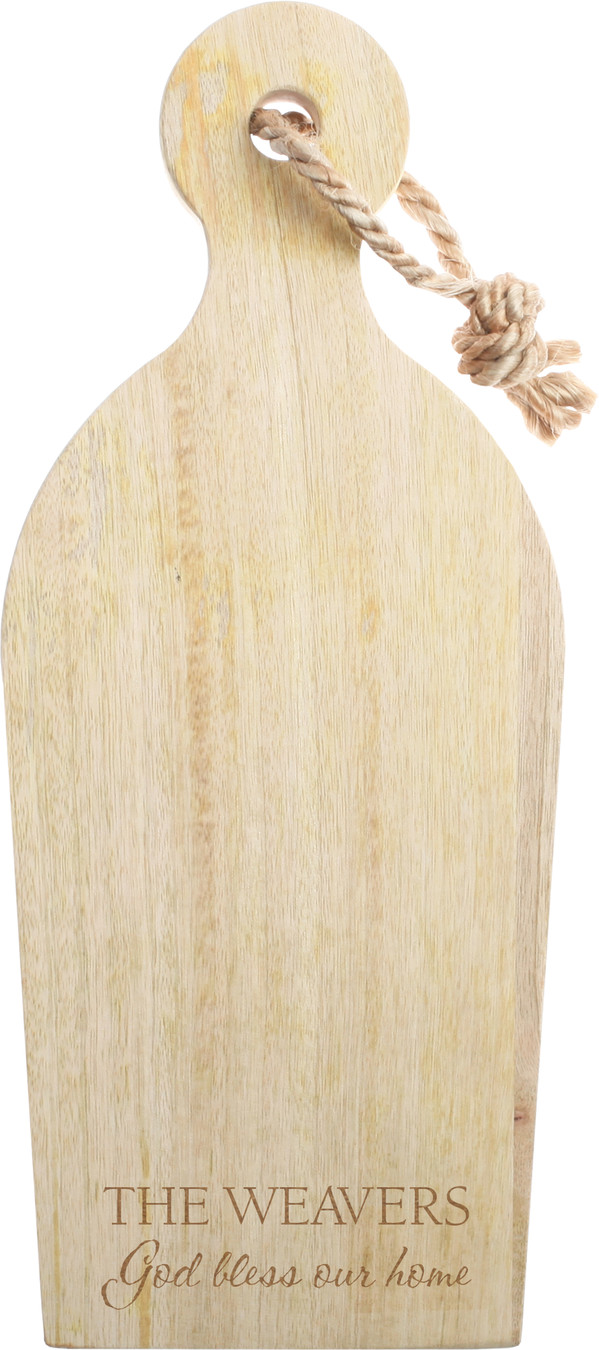 Mango Cutting Board with Rope 3