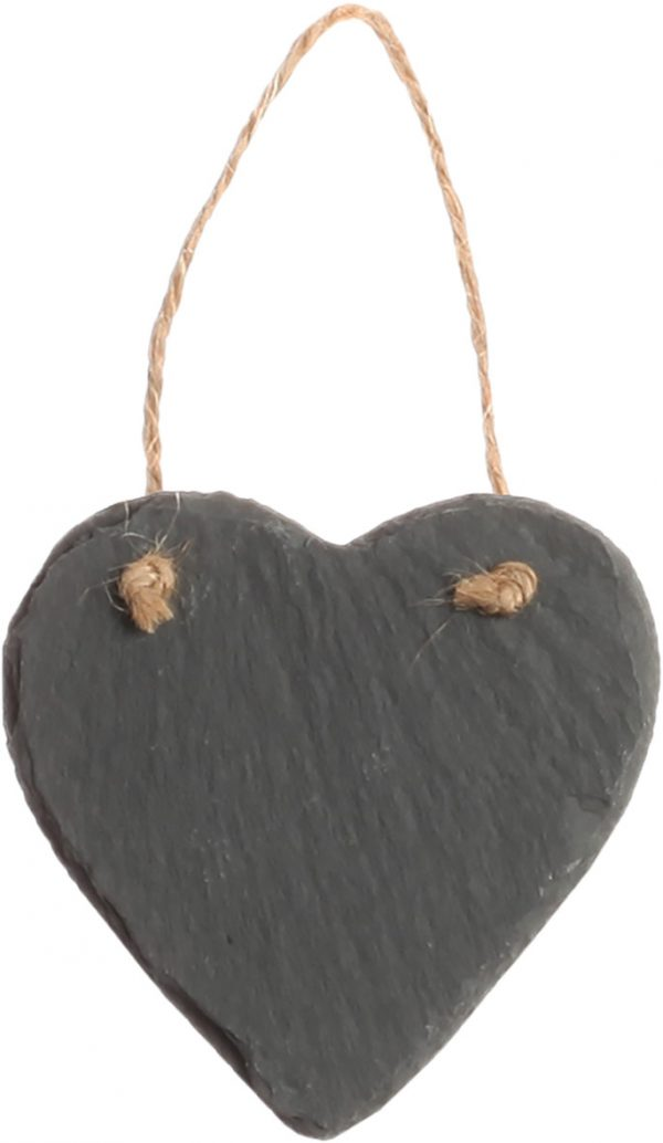 Slate Heart Ornament 3