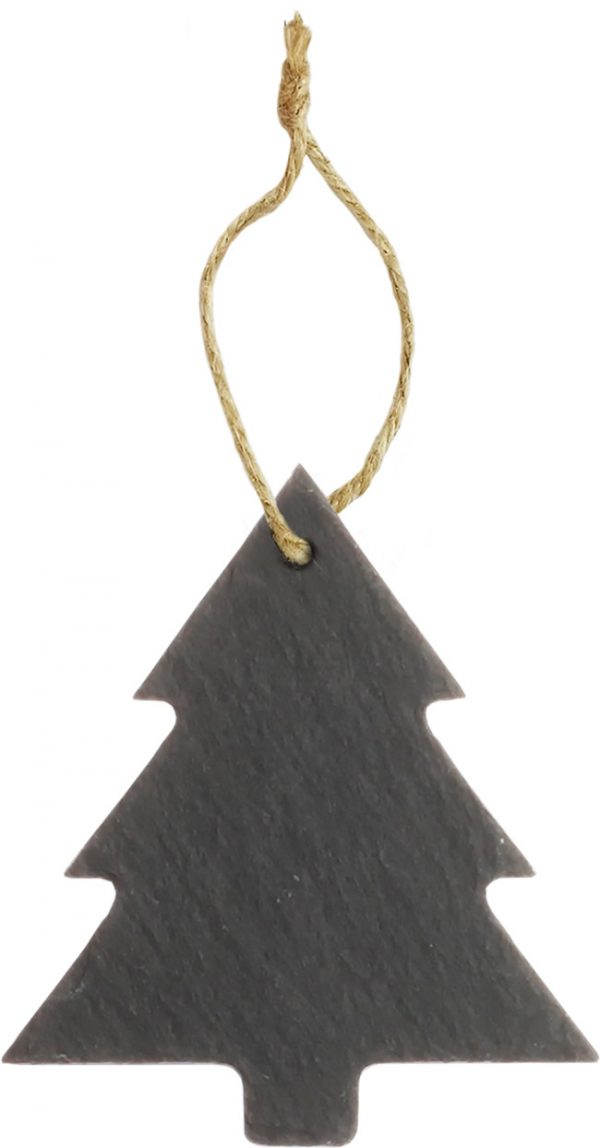 Slate Tree Ornament 3