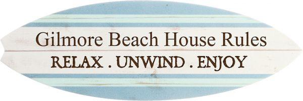 Surfboard Plaque 3