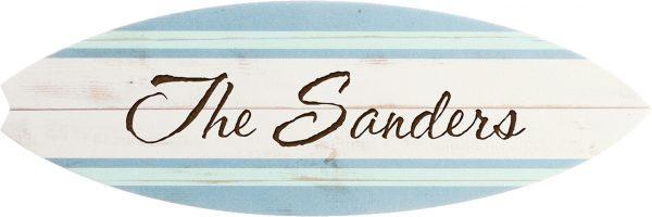 Surfboard Plaque 4