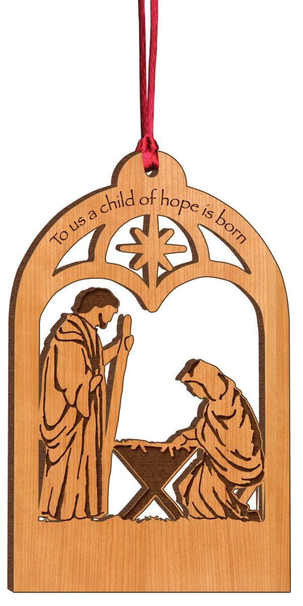 Nativity Ornament 1