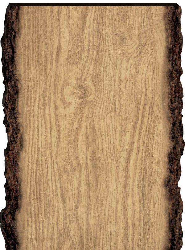 Faux Sliced Log Sign 13