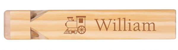 Train Whistle with 2 sides engraved 2