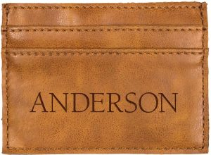 Faux Leather Credit Card Wallet 5