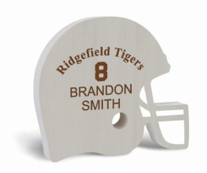 Football Helmet Sign 2