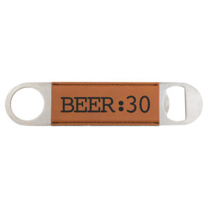 Leatherette Bottle Opener 2