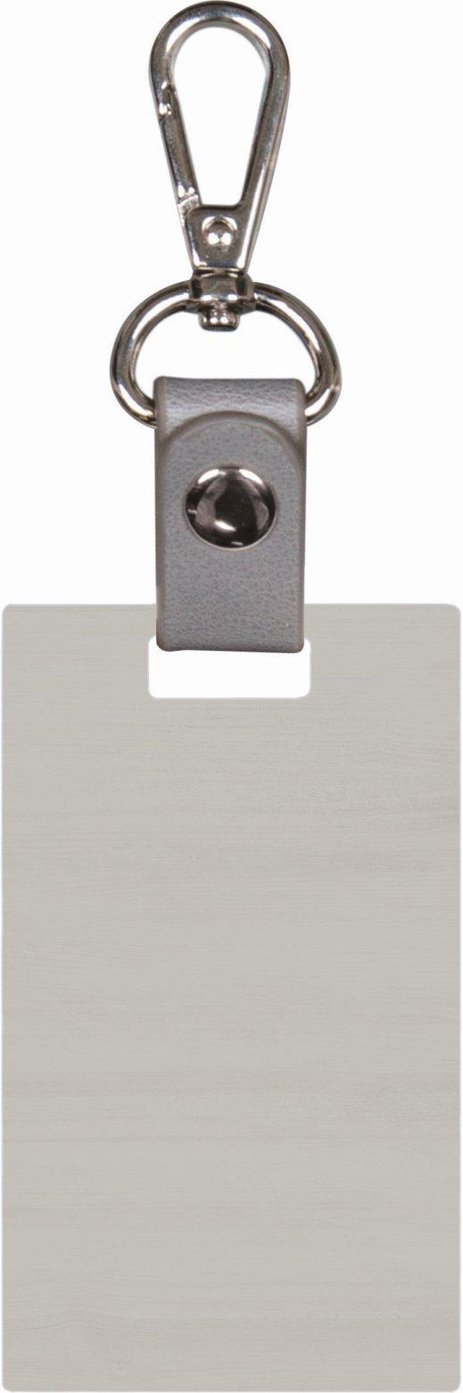 Grey keychain 8