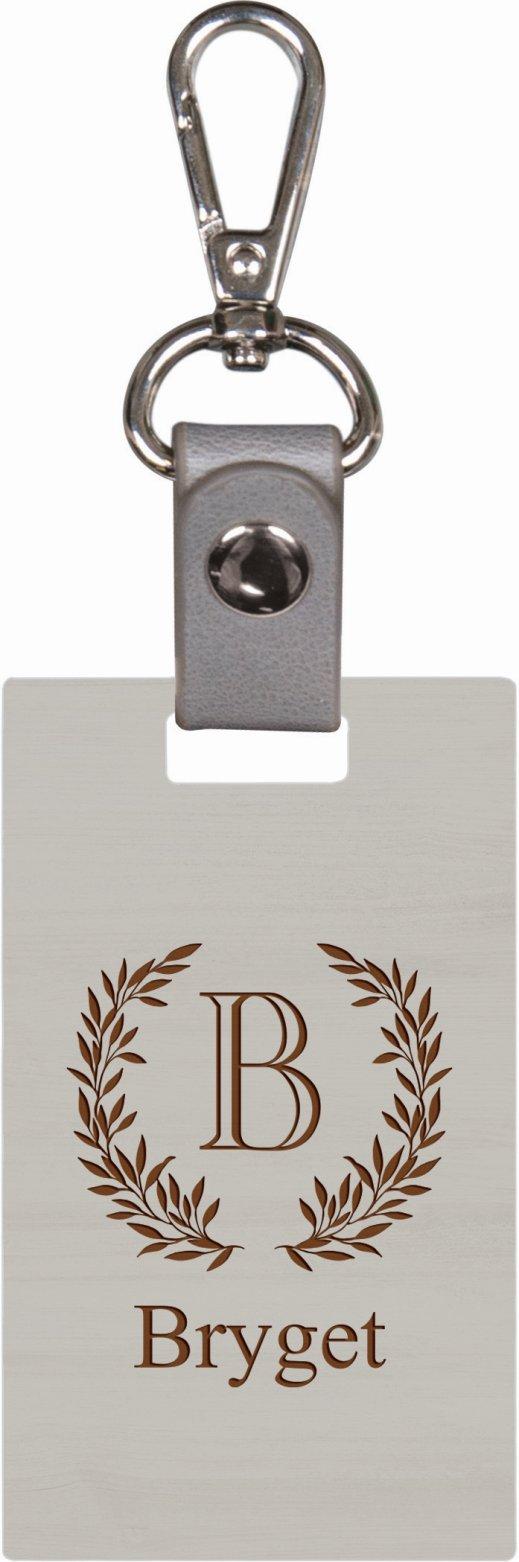 Grey keychain 10