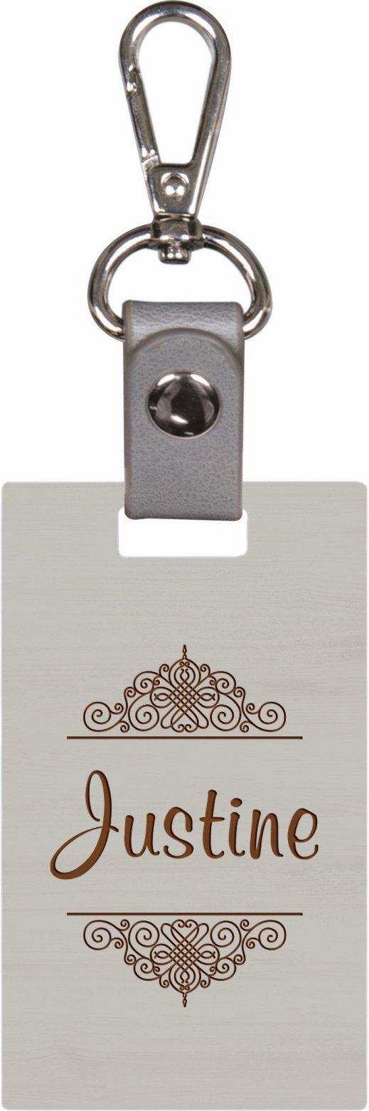 Grey keychain 6