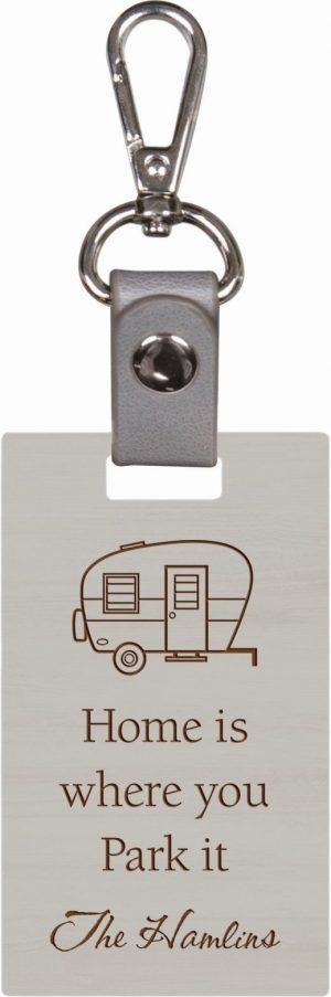Grey keychain 7