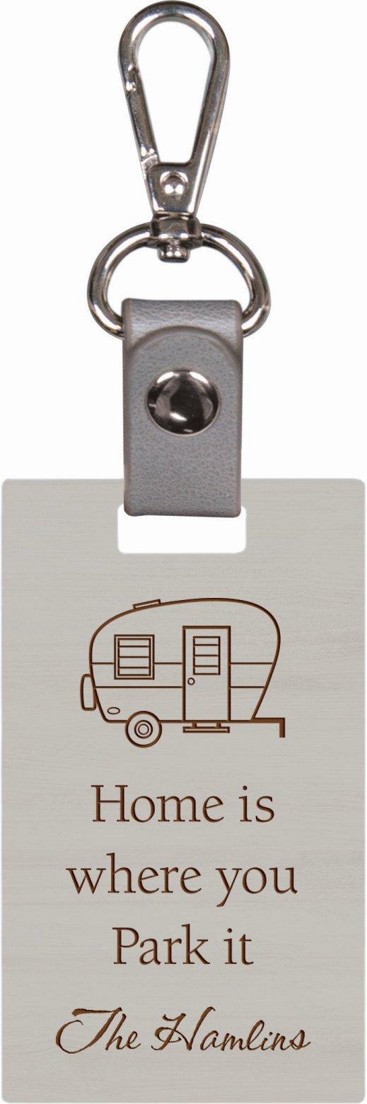 Grey keychain 1