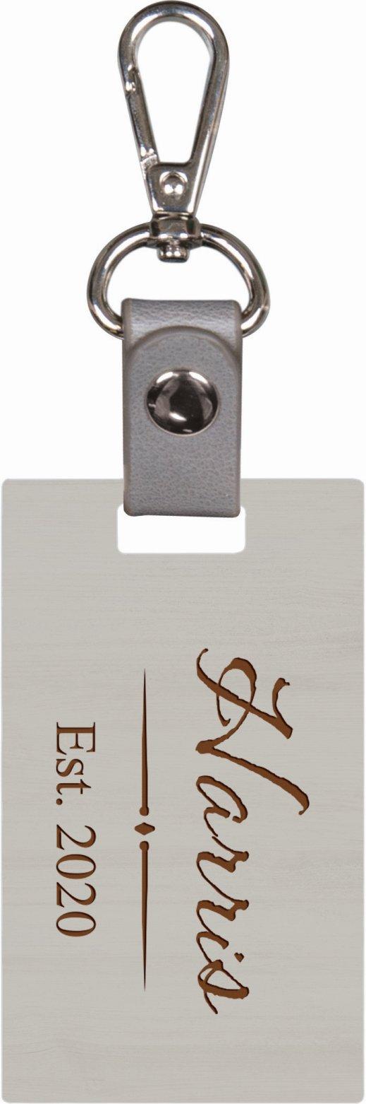 Grey keychain 5