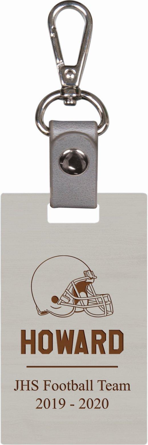 Grey keychain 3
