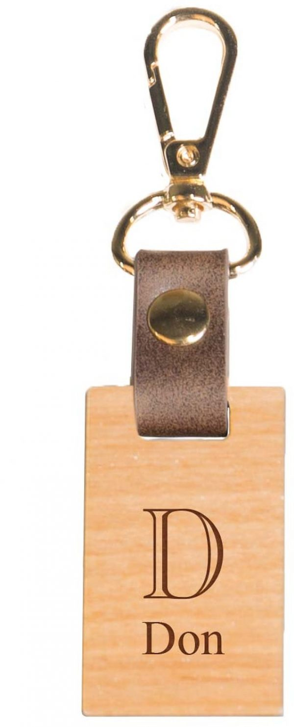 Wood keychain 1