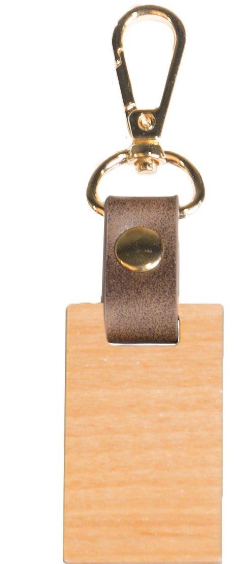 Wood keychain 3