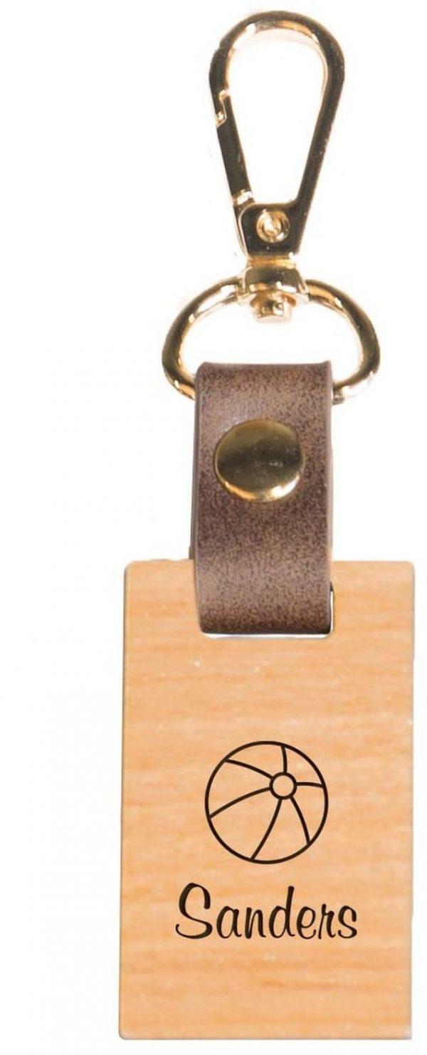 Wood keychain 4