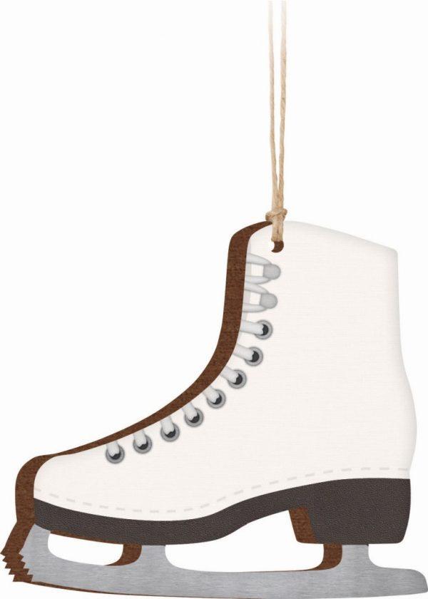 Ice Skate Ornament