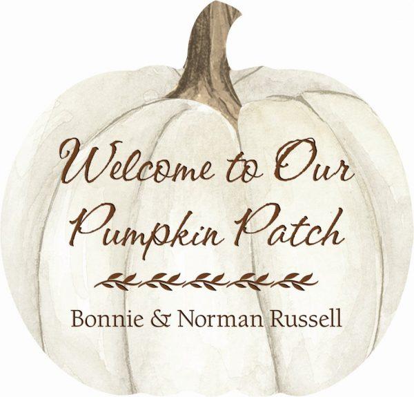 Pumpkin sign 1