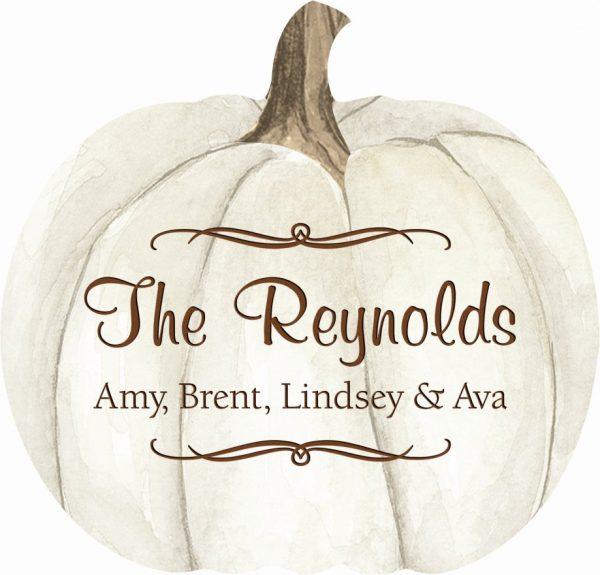 Pumpkin sign 2